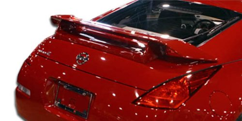 Duraflex Replacement for 2003-2008 Nissan 350Z Z33 2DR Coupe N-1 Wing Trunk Lid Spoiler - 1 -