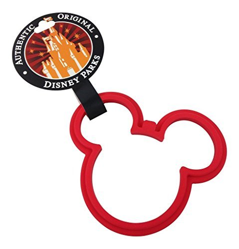 Disney Parks Exclusive Mickey Mouse Icon Silicone Pancake Egg Ring