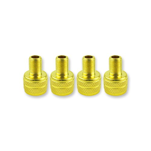 Quick Pressure QP-002010 Stainless Steel Brass Valve Stem Adapter, (Pack of 4)