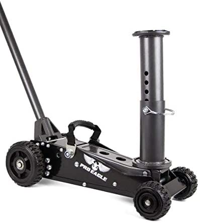 4WD for Lifted COOKE Pro Eagle 1.5 Ton Talon Big Wheel Hydraulic Off Road Jack and Extreme Vehicles