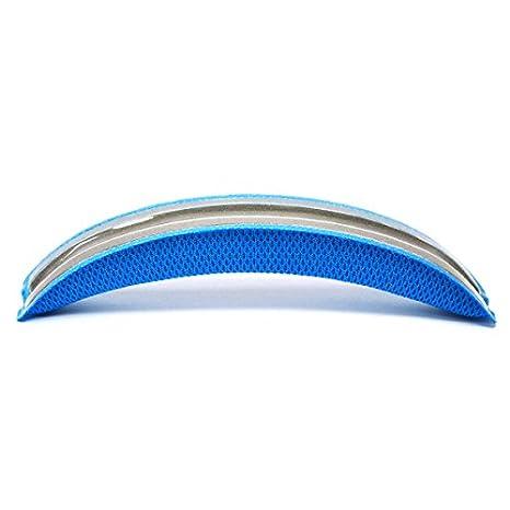 WEWOM almohadilla de cabeza de repuesto para cascos Logitech G430 G930 Gaming, azul: Amazon.es: Electrónica