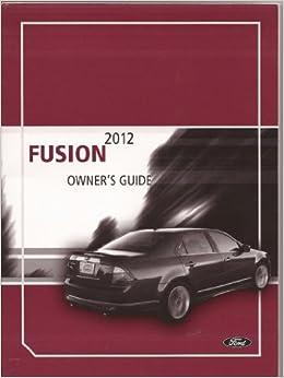 2012 ford fusion manual