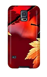 Sanp On Case Cover Protector For Galaxy S5 (lush Red)