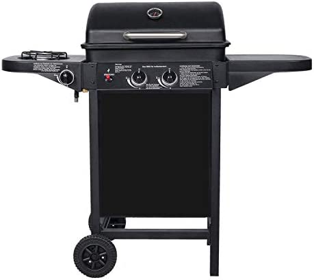 BROILUCK Barbecue à gaz d'extérieur 2 + 1 brûleurs 8.7KW