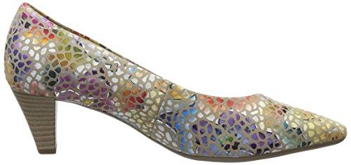 Gabor Shoes 65.14, Zapatos de Tacón Mujer Multicolor (Silk 42)