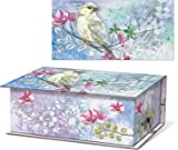 Punch Studio Scented Soap in Rectangular Music Box - Bird 47614