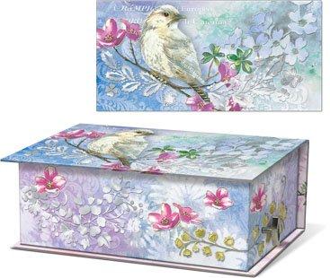Punch Studio Scented Soap in Rectangular Music Box - Bird 47614