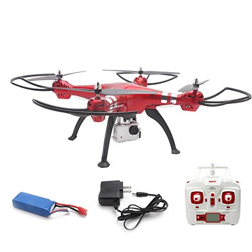 X8HG Drone New Altitude Hold Mode Headless 3D Flips RC Quadcopter with 8MP Camera Red by dissylove