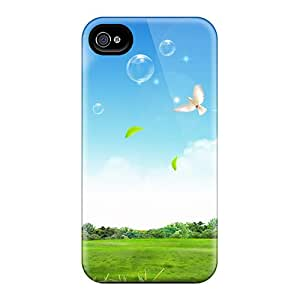 Slim Fit Protector Shock Absorbent Bumper Peaceful Life Cases For Iphone 5/5s