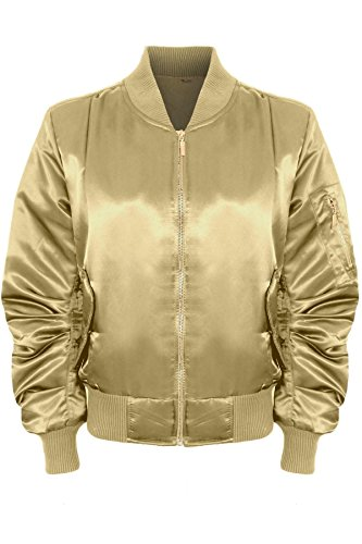 Quilted Satin Jacket - 5