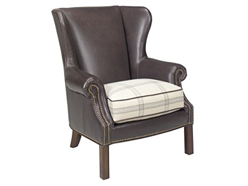 Lexington Wing Chair (Coventry Hills - Logan Leather Wing Chair)