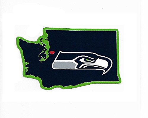 Rico Industries NFL Seattle Seahawks Home State Sticker