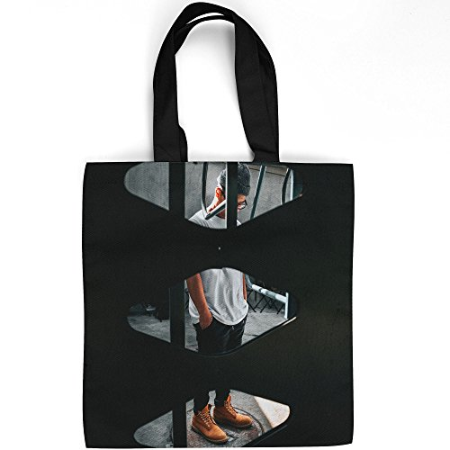 Westlake Art - Portrait Person - Tote Bag - Picture Photography Shopping Gym Work - 16x16 Inch (D41D8)