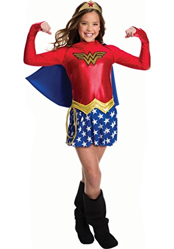Rubie's Costume Girls DC Comics Wonder Costume, Small, Multicolor