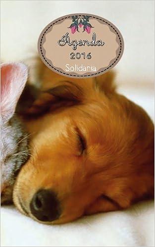 Agenda 2016 solidaria: las ventas irán para la perrera CAAB