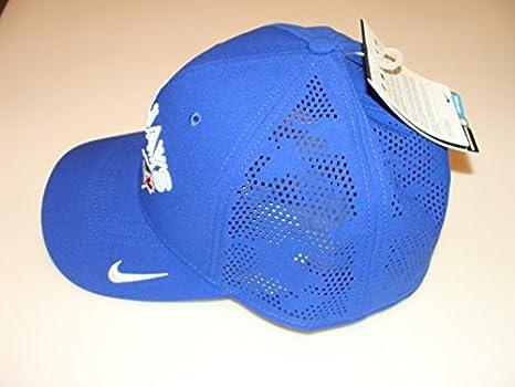 01dc8edd3a0 Toronto Blue Jays MLB Baseball Hat Cap Dri Fit Fabric Mix Flex Fit ...