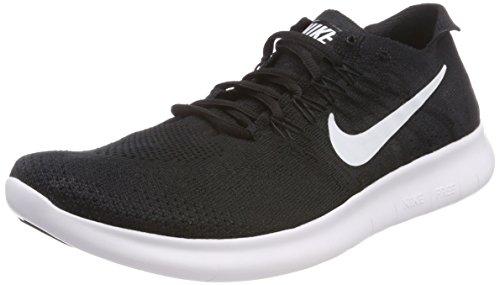 001 Da Running Nero black Flyknit Rn Nike white black Donna Scarpe Free Trail 2017 q1FTwOX