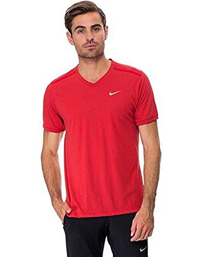 Tee Legend Bright Red 02 V Nike Neck Black RpwqxSx