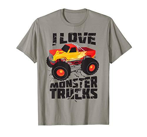 Expert choice for bigfoot monster truck shirt toddler