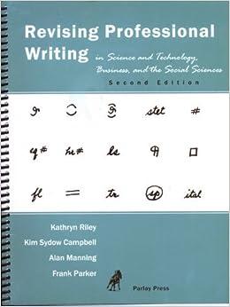 CS 100W: Technical Writing