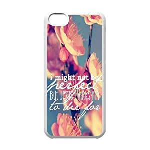 Bible Verse Customized Cover Case for iphone 5c,custom phone case ygtg620380