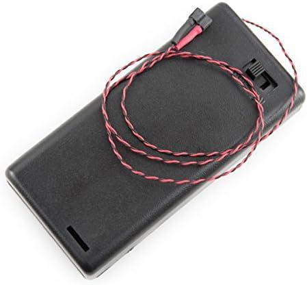 ハイキューパーツ ワンタッチLEDシリーズ スイッチ付き単3電池ケース 電子回路組み込み済 1個入 プラモデル用パーツ BCS-2ASW