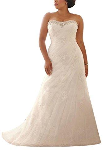 George Bride Amor Cristal Perlas Recorte aermelloses vergroessern Vestidos de novia Vestidos de Boda Beige