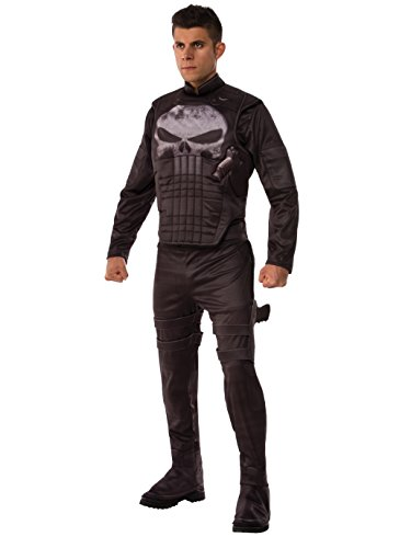Marvel Men's Universe Deluxe Punisher Costume, Multi, X-Large ()