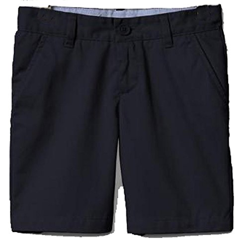Gap Kids Girls Navy Classic Chino Flat Front School Uniform Shorts 14