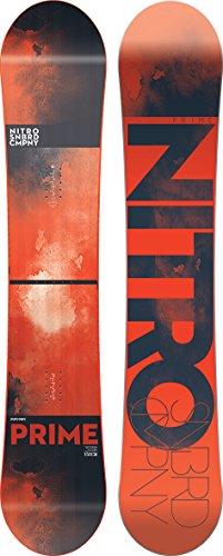 Nitro Prime Snowboard - Men's One Color, (162cm Snowboard)