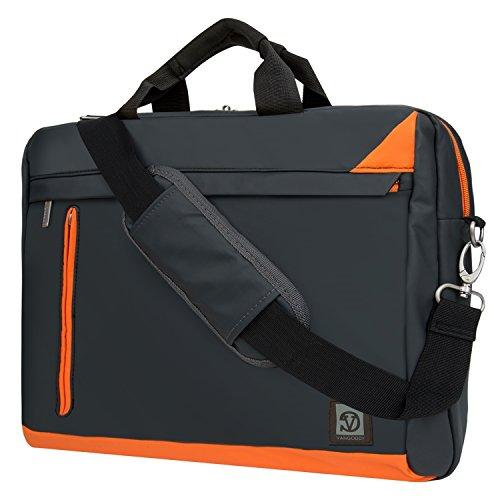 Travel Outdoor Computer Backpack Laptop bag (Orange) - 7