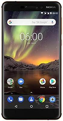 Nokia 6.1 SIM Doble 4G 32GB Negro, Cobre: Amazon.es: Electrónica