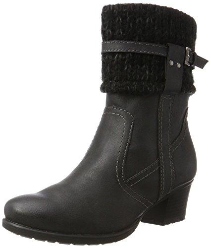Tamaris 25048, Bottes Femme Noir (Black)