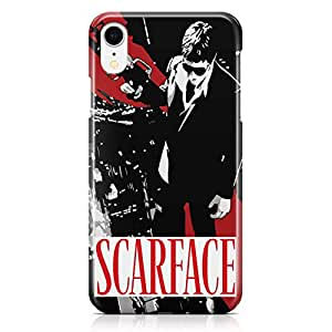 Loud Universe Scarface Movie iPhone XR Case Movie Poster Scarface iPhone XR Cover with 3d Wrap around Edges