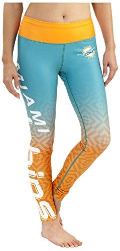 Miami Dolphins Gradient Print Legging - Womens -