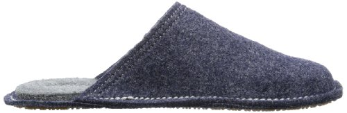 Living Kitzbühel Pantoffel Flex uni 2240 - Pantuflas de fieltro unisex azul - Blau (jeans 560)