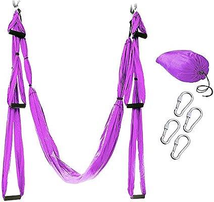Amazon.com : Ultra Strong Antigravity Yoga Swing Sling ...