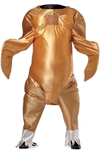 [8eighteen Thanksgiving Gobbler the Turkey Bodysuit Adult Costume] (Hot Dog Baby Costumes)