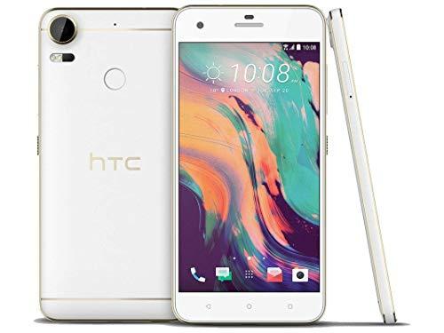 HTC Desire 10 Pro D10i 64GB Polar White, 5.5 Inch, Dual Sim, GSM Unlocked International Model, No Warranty]()