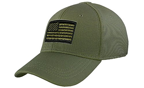 Condor Fitted Tactical Cap Bundle (USA/DTOM Patches)
