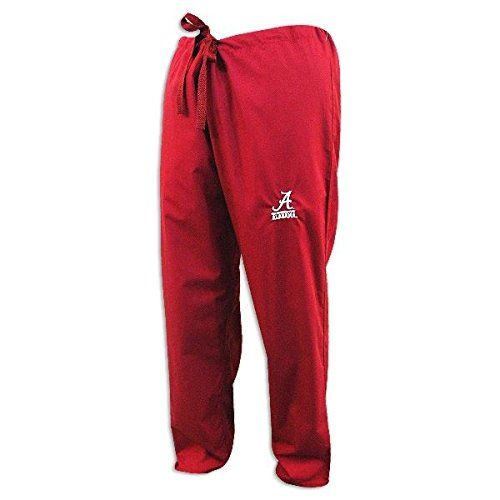 Alabama Scrubs (Alabama Crimson Tide Crimson Scrubs Pants:M-32-34)