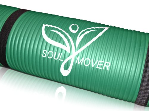 Soul Mover- Thick Exercise Mat {3/8-Inch}  Perfect Exercise