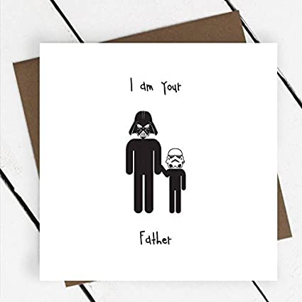 I Am tu padre tarjeta de felicitación de cumpleaños ...