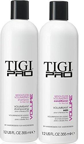 (Tigi Pro Weightless Volumizing 12 oz DUO)