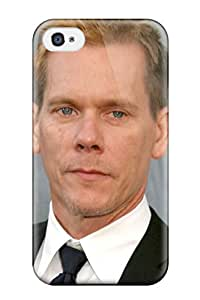 Iphone 4/4s Kevin Bacon Print High Quality Tpu Gel Frame Case Cover