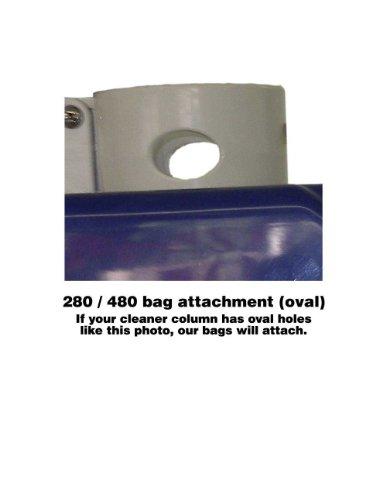 [해외]Polaris 280 480 용 FibroPool 2 팩 교체 백/FibroPool 2 Pack Replacement Bags For Polaris 280   480