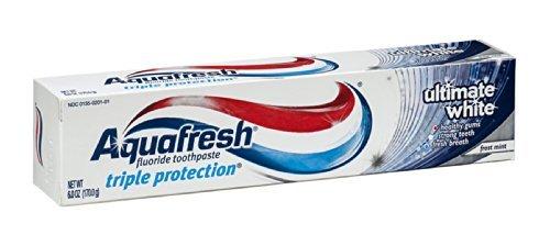 Aquafresh Toothpaste Ultimate White 6 (Aquafresh White Toothpaste)