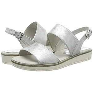 MARCO TOZZI 2-2-28117-22, Sandali con Cinturino alla Caviglia Donna