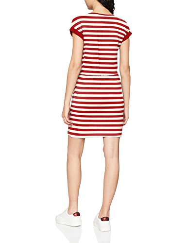 Risk Red Ss cloud High Vestito NOS Fold Noos Onlamber Stripes Donna Dancer Up Multicolore ONLY Dress P4q7wp4