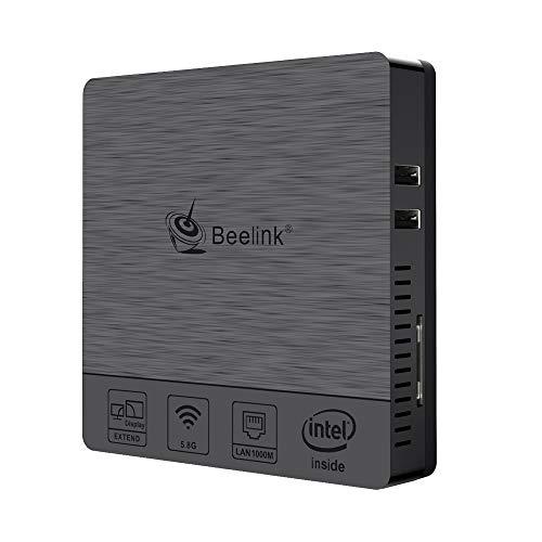 Beelink BT3 Pro II Mini PC RAM 4GB ROM 64GB Extended Memory 128GB,Intel Atom x5-Z8350 HD Graphics 400,Mini Computer Dual Screen Display 1000Mbps LAN 2.4/5.8G WiFi (The Best Pc Memory)